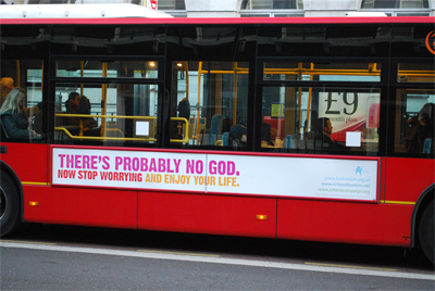 Atheist Bus in the wild