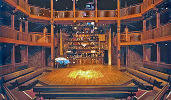 Swan Theatre Interior