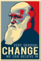 Very gradual change///