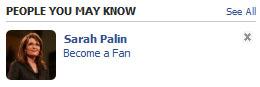 Palin Facebook
