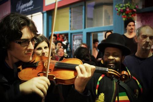 Violin Dude - Original