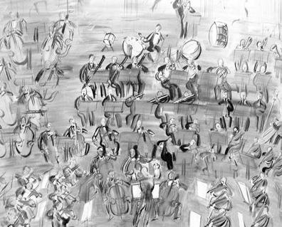 Raoul Dufy Orchestra B/W