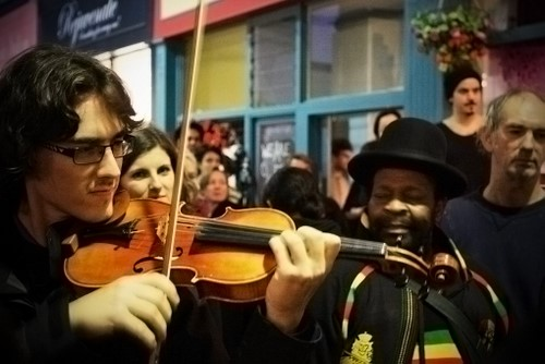 Violin Dude Edit 1 - With Saturation