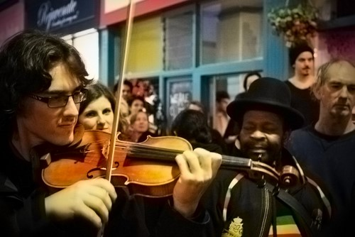Violin Dude Edit 2 - with saturation